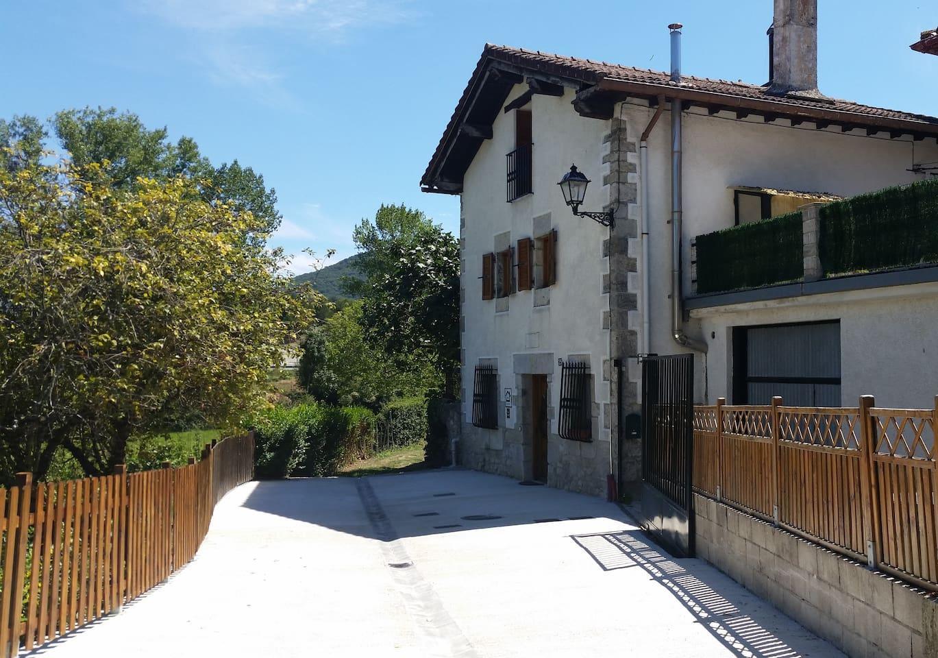 Alquiler vacacional en Satrustegi, Navarra