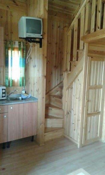 Alquier de Cabaña en Cenicientos, Madrid para un máximo de 4 personas con 2 dormitorios