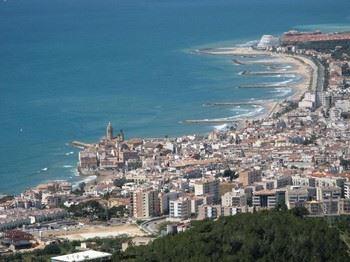 Alquier de Apartamento en Sitges, Barcelona para un máximo de 4 personas con 2 dormitorios