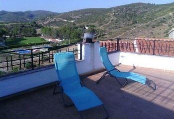 Alquier de Casa rural en Les Coves de Vinromà, Castellón para un máximo de 8 personas con 4 dormitorios