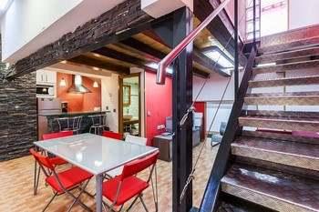 Alquier de Otros en Jaca, Huesca para un máximo de 8 personas con 3 dormitorios