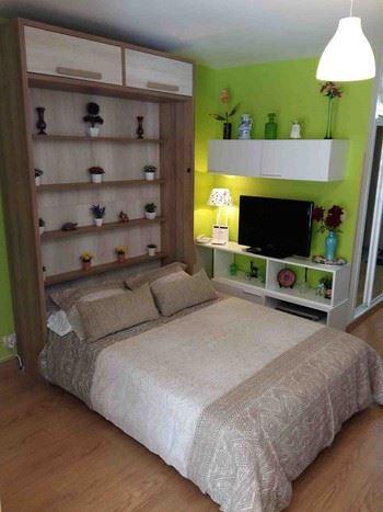 Alquier de Estudio en Benalmádena, Málaga para un máximo de 3 personas con  1 dormitorio