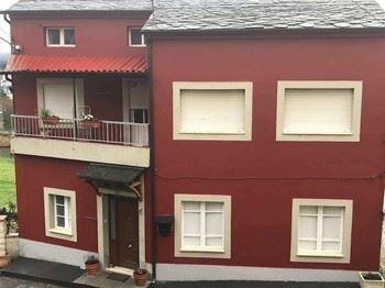 Alquier de Chalet en Sarria, Lugo para un máximo de 8 personas con 4 dormitorios