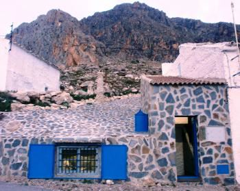 Alquier de Cueva en Bedmar, Jaén para un máximo de 2 personas con  1 dormitorio