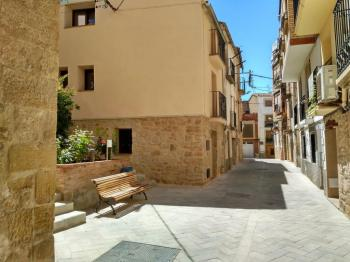 Alquier de Casa rural en Caseres, Tarragona para un máximo de 4 personas con 2 dormitorios