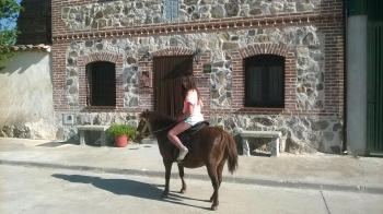Alquier de Casa rural en Vega de Santa María, Ávila para un máximo de 10 personas con 4 dormitorios
