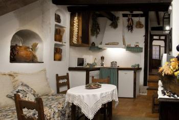 Alquier de Casa rural en Chinchón, Madrid para un máximo de 3 personas con  1 dormitorio