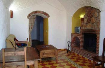 Alquier de Cueva en El Bejarín, Granada para un máximo de 2 personas con  1 dormitorio