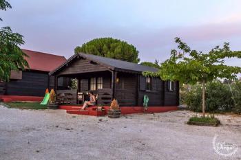 Alquier de Cabaña en Setenil, Cádiz para un máximo de 3 personas con  1 dormitorio