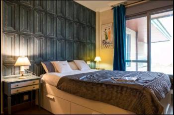 Alquier de Apartamento en Sanxenxo, Pontevedra para un máximo de 3 personas con  1 dormitorio