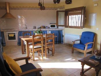 Alquier de Casa rural en Ibdes, Zaragoza para un máximo de 4 personas con 2 dormitorios