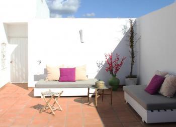 Alquier de Casa en Tarifa, Cádiz para un máximo de 25 personas con 8 dormitorios