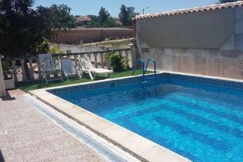 Alquier de Casa rural en La Almarcha, Cuenca para un máximo de 8 personas con 3 dormitorios