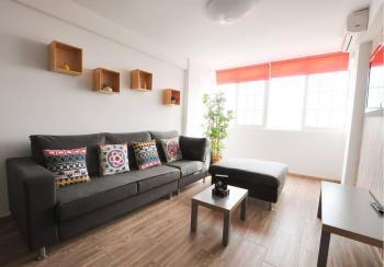 Alquier de Apartamento en Málaga, Málaga para un máximo de 6 personas con 3 dormitorios