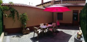 Alquier de Casa rural en Villalcázar de Sirga, Palencia para un máximo de 5 personas con  1 dormitorio
