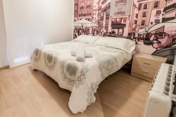 Alquier de Apartamento en Teruel,  para un máximo de 4 personas con  1 dormitorio