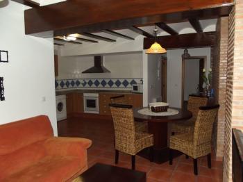 Alquier de Casa rural en Chulilla, Valencia para un máximo de 4 personas con 2 dormitorios