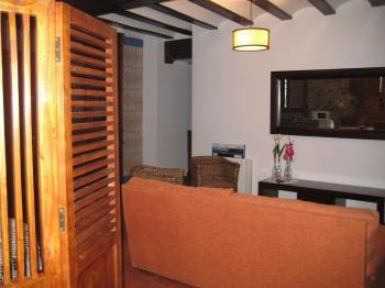 Alquier de Casa rural en Chulilla, Valencia para un máximo de 5 personas con 2 dormitorios