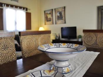 Alquier de Casa rural en Chulilla, Valencia para un máximo de 6 personas con 3 dormitorios