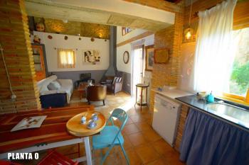 Alquier de Apartamento en Chulilla, Valencia para un máximo de 5 personas con 2 dormitorios