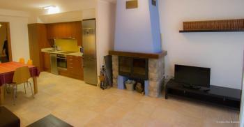 Alquier de Apartamento en Fontellas, Huesca para un máximo de 5 personas con 2 dormitorios